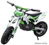 Actionbikes Kindermotorrad Kinder-Crossbike Poketbike Gazelle E-Motorrad grün