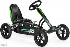 DinoCars Kids Speedy AF anthrazit Kinderauto Kettencar GoKart Tretauto