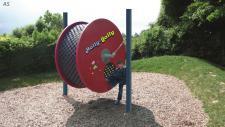Hally-Gally Karussell Hamsterrad Laufrad Drehkarussell Spielplatzgerät Laufwirbel Spielplatzanlage