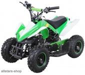 Actionbikes Kinderauto Poketquad Miniquad Racer 49 cc Motor-2-takt-Quad grün-weiß