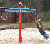 Hally-Gally Drehpilz Mini-Kreisel-Reihe Karussell Drehturm Karussell Spielplatz