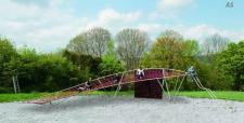 Hally-Gally Spielplatzgeräte Kometenschweif Seilklettergestell Spielplatzanlage
