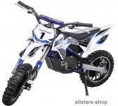 Actionbikes Kindermotorrad Kinder-Crossbike Poketbike Gazelle E-Motorrad blau