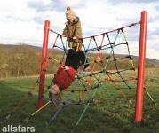 Huck Easy-Climb 4 Seilparcours Spielplatzgerät