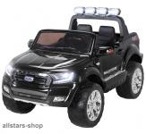 Actionbikes Kinderauto Ford Ranger Kinder-E-Auto 2-Sitzer 2 Kinder schwarz