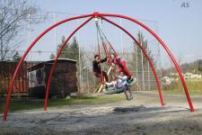 Hally-Gally Spielplatzgerät Vogelnest 1-Punkt-Aufhängung Vogelnestschaukel