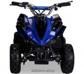 Actionbikes Kinderauto Poketquad Miniquad Racer 49 cc Motor-2-takt-Quad blau-schwarz