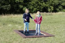 Hally-Gally Spogg Mini-Trampolin geschlossene Sprungmatte Inground zum Einbauen