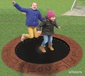 Hally-Gally Circus Maximus Trampolin geschlossene Gummimatte Sprungmatte Spielplatzgeräte