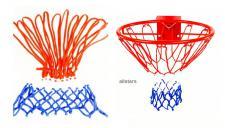 Beckmann Nylonnetz Basketballkorb Netz Basketball Basketballnetz