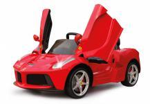 Jamara Ride On Ferrari LaFerrari Kinderauto Elektroauto rot 2, 4G 6V