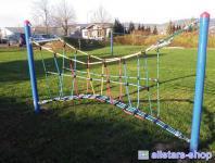 Huck Fun-Parcours Kletterspiel Bogenbrücke Spielanlage Modul Kletternetz