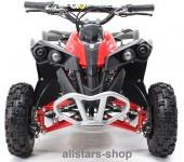 Actionbikes Kinderauto Elektro-Quad Reneblade 1000 W Pocketquad schwarz-rot