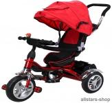 Actionbikes Kinderwagen Kinderkarre Kinder-Karre Kinder-Buggy Kinder-Dreirad rot