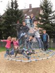 Hally-Gally Mini-Kletterpyramide Mini-Kreisel Karussell Drehturm Minikarussell