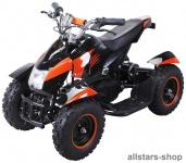 Actionbikes Kinderauto Elektro-Quad Cobra 800 W Pocketquad schwarz-orange
