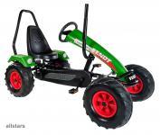 DinoCars Dino Cars Gokart Track Fendt Überrollbügel BF1 Kinderfahrzeug Kettcar