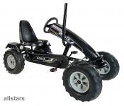 DinoCars Dino Cars GoCart Gokart Track Black Bull BF1 Kinderfahrzeug Kettcar