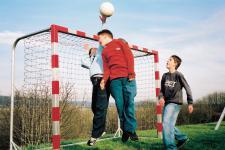 Huck Seiltechnik Boltzplatz-Tornetz Dralo Fußballtor Bolzplatz Handball Drahtseil