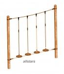 HUCK Vario-Element 20 Kletterteller für Stahlpfosten balancieren öffentlicher Spielplatz