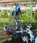 Hally-Gally Karussell Wichtelwind Drehkarussell Kletterkreisel Drehkreisel Spielplatzanlage