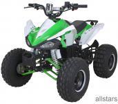 Quad Elektro-Quad Kinderquad E-Quad S-14 Speedy grün-weiss 1000W
