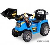 Actionbikes Kinder-Elektrobagger ZP10005, Bagger Radlader Sitzbagger Sandbagger