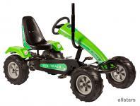 DinoCars Dino Cars GoCart Gokart Track BF3 grün Kinderfahrzeug Kettcar Tretauto