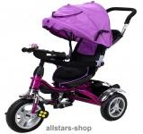 Actionbikes Kinderwagen Kinderkarre Kinder-Karre Kinder-Buggy Kinder-Dreirad lila