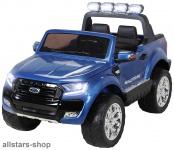 Actionbikes Kinderauto Ford Ranger Kinder-E-Auto 2-Sitzer 2 Kinder blau