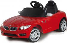 Jamara BMW Z4 rot Roadster Kabrio Edition E-Auto Kinderauto Kinderfahrzeug mit E-Motor zum Selbstfahren Ride on Car Elektroauto mit RC-Fernbedienung