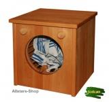Schöllner Waschmaschine Waschautomat für Kinderküche Spielküche Star Maxi aus Holz für Kindergarten
