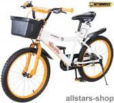 Actionbikes Kinderfahrrad Kinder-Fahrrad - Timson - 20 Zoll Bike Mädchen Junge orange für Kindergarten