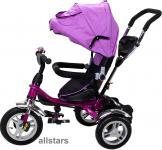 Allstars Kinderkarre Kinderwagen 7 Funktionen Kinderbuggy lila