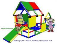 MoveAndStic Baukasten KiGa 7 Spielhaus Kletterturm Bausteine Baukasten Systembaukasten Klettergerüst
