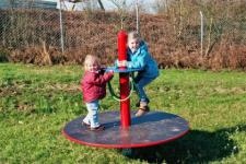 Hally-Gally Spielplatzgeräte Karussell Wichtel-Kreisel Minikarussell Spielgeräte