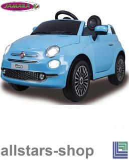 Jamara Kinderauto Elektroauto Ride On Car Fiat 500 Selbstfahr-Kinderauto - Vorschau 5