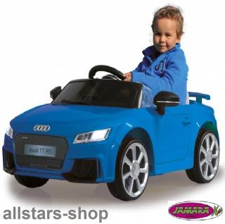Jamara Kinder-Auto Elektroauto Audi TT RS Roadster Ride On Car mit E-Motor - Vorschau 5