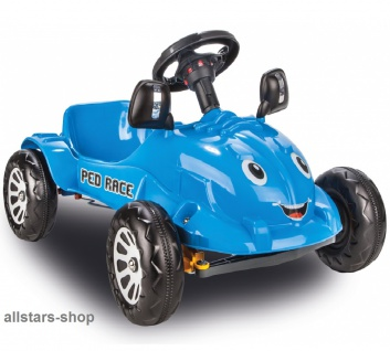 Jamara Kinder-Pedalauto Tretauto Rutscher Pedal Car Gokart - Vorschau 5