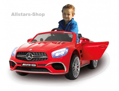 Jamara Kinder-Auto Mercedes SL 65 AMG Ride On Car mit Elektromotor Farbwahl - Vorschau 5