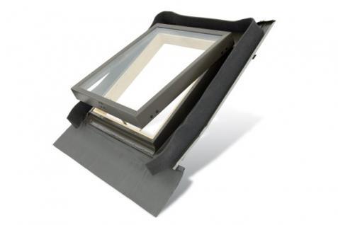 Kaltraumfenster Holz mit Eindeckrahmen 45 x 55 oder 45 x 73 cm, Fenstro FE4555 FE4573 Dachfenster Mehrzweckfenster für unbeheizte Dachräume - Vorschau 1