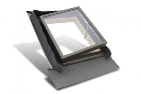 Kaltraumfenster Holz mit Eindeckrahmen 45 x 55 oder 45 x 73 cm, Fenstro FE4555 FE4573 Dachfenster Mehrzweckfenster für unbeheizte Dachräume - Vorschau 2