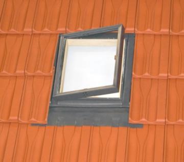 Kaltraumfenster Holz mit Eindeckrahmen 45 x 55 oder 45 x 73 cm, Fenstro FE4555 FE4573 Dachfenster Mehrzweckfenster für unbeheizte Dachräume - Vorschau 3