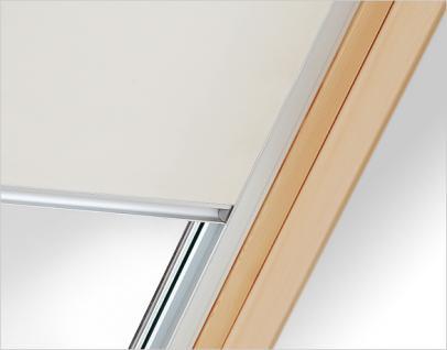 Verdunklungsrollo RUR weiß, beige oder dunkelblau Größe C2A, F6A oder M6A Innenrollo mit 100%iger Verdunkelungswirkung für Dachfenster, Verdunkelungswirkung, Rollo,