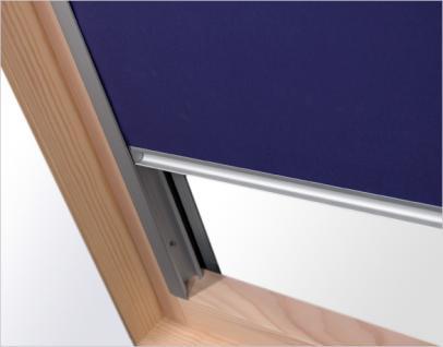 Verdunklungsrollo RUR weiß, beige oder dunkelblau Größe C2A, F6A oder M6A Innenrollo mit 100%iger Verdunkelungswirkung für Dachfenster, Verdunkelungswirkung, Rollo, - Vorschau 4
