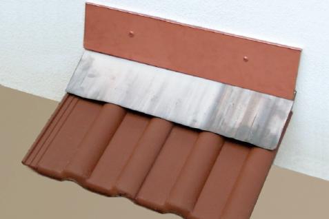 Vario Wandanschluss Kupfer oben 1, 15 m, 170 oder 95 mm - Vorschau 2