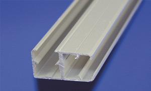 Alu-Eck-Profil für Bastelplatten Länge 2 m für 90° Plattenverbindungen