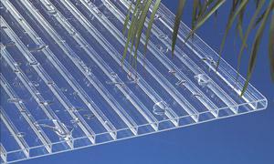Acryl Stegplatten 16 mm klar sehr klar und optisch brillant! Beste Haltbarkeit!
