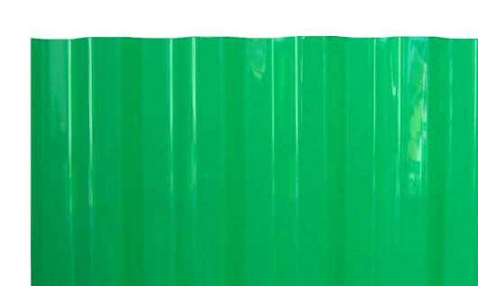 PVC Wellplatten Trapez 70/18 grün transparent 2000 x 1090 mm Lichtplatten Profilplatten