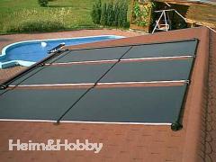 Akylux Solarkollektoren, Solarheizung für Swimmingpool Solarkaptoren